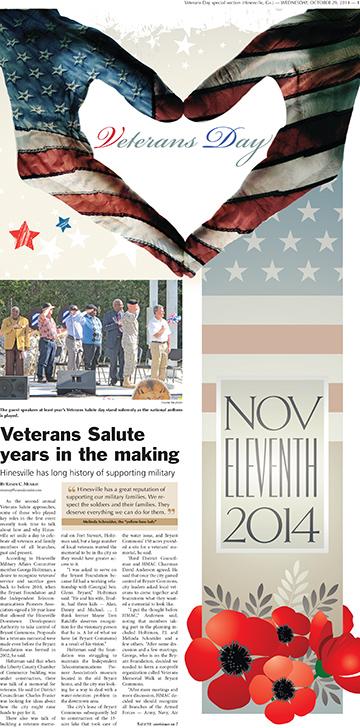 Veterans Salute 2014 November 2014